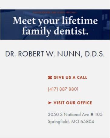 Dr. Robert W. Nunn, D.D.S.